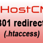 Настройка 301 редиректа в Hostcms